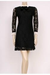 Lace Collars Dress
