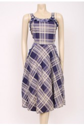 Cotton Checks Dress