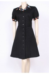 Collars & Cuffs Mod Dress
