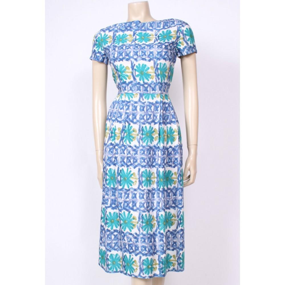 Print 50\'s Dress