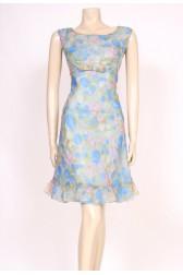 Dainty 60's Bow Dress