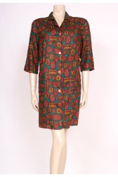 50's Cotton Shirt Dress