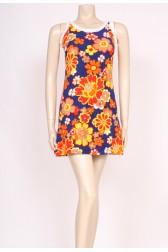 Flower Towel 60's Dress