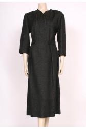 1950's Belted Brocade Dress