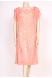 1920's Peaches & Cream Dress