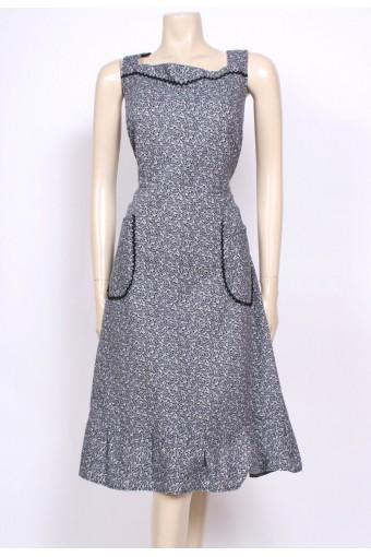 Cotton 70's Sun Dress