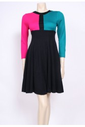 80's Block Dress