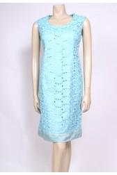 Aqua 60's Guipure Dress