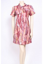 Necktie Watercolour Dress