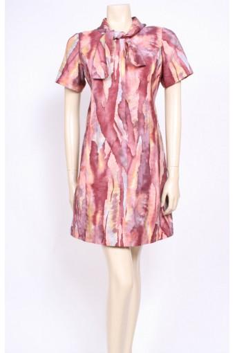 Necktie Watercolour Dress