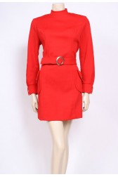 Red Mod Dress