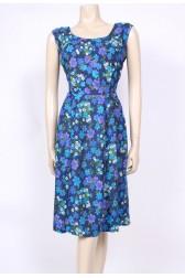 Cotton Blues 50's Dress