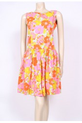 60's Culottes Dress