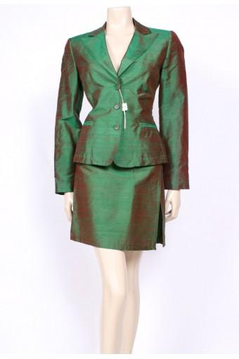 Silk 90's Moschino Suit