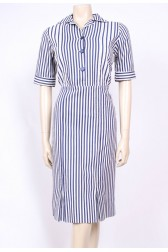 Striped 50's Dress