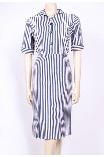 Striped 50's Dress