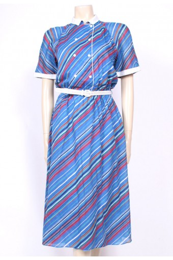 Striped Betty Barclay Dress