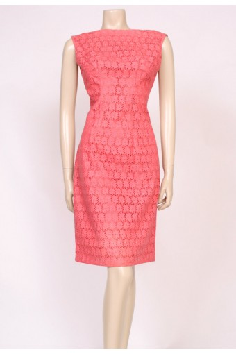 Blush Pink Lace 60's Dress