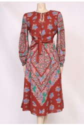 Cotton Print Day Dress