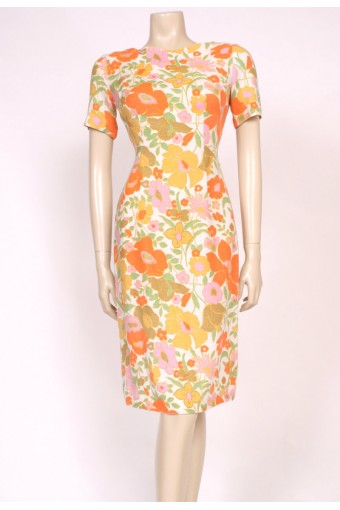 Cotton 60's Shift Dress