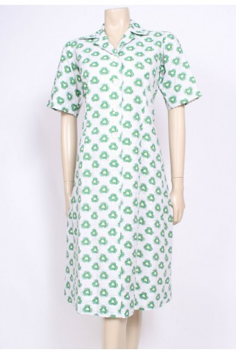 Seersucker Mod Dress