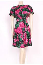 Cute Caped Dress