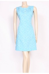Blue Mini Mod Dress