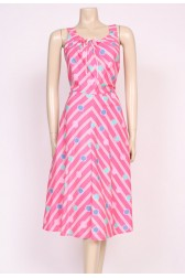 Spotted Pink Sun Dress