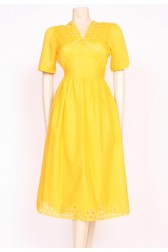 Yellow La La Dress