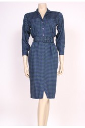 Houndstooth Day Dress