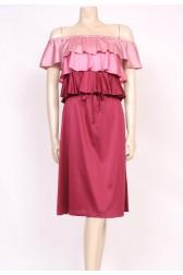 Pink Layers Dress