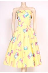 Coconut Pop Art Dress