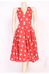 Monroe Polkadot Dress