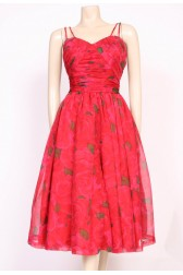 Roses 1950's Prom Dress