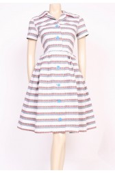 Button-Up 1950's Dress