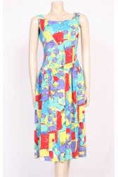 Block Print Sun Dress