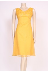 Yellow 60's Mod Dress