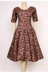 Blush Lace 50's Dress