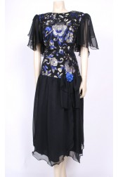 Winged Glitter Dress