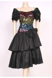 Sequin Smarties Party Dress