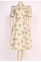 Yellow Rose Mod Dress