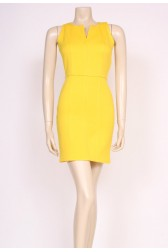 Yellow Mini 60's Dress