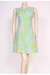 Candy Print 60's Dress