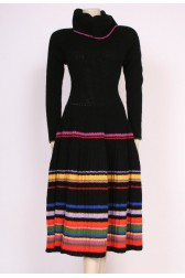 Knitted Stripes Dress