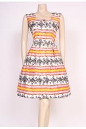 Printed 50's Tea Dress