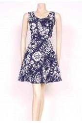 70's Print Mini Dress