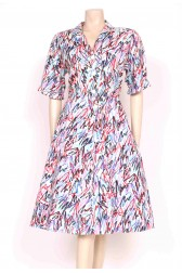 Scribble Shirt Dress