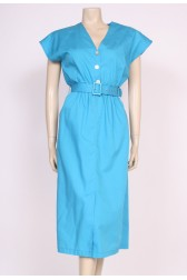 Turquoise Day Dress
