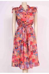 Tutti-Frutti Print Dress
