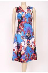 60's Bold Print Dress